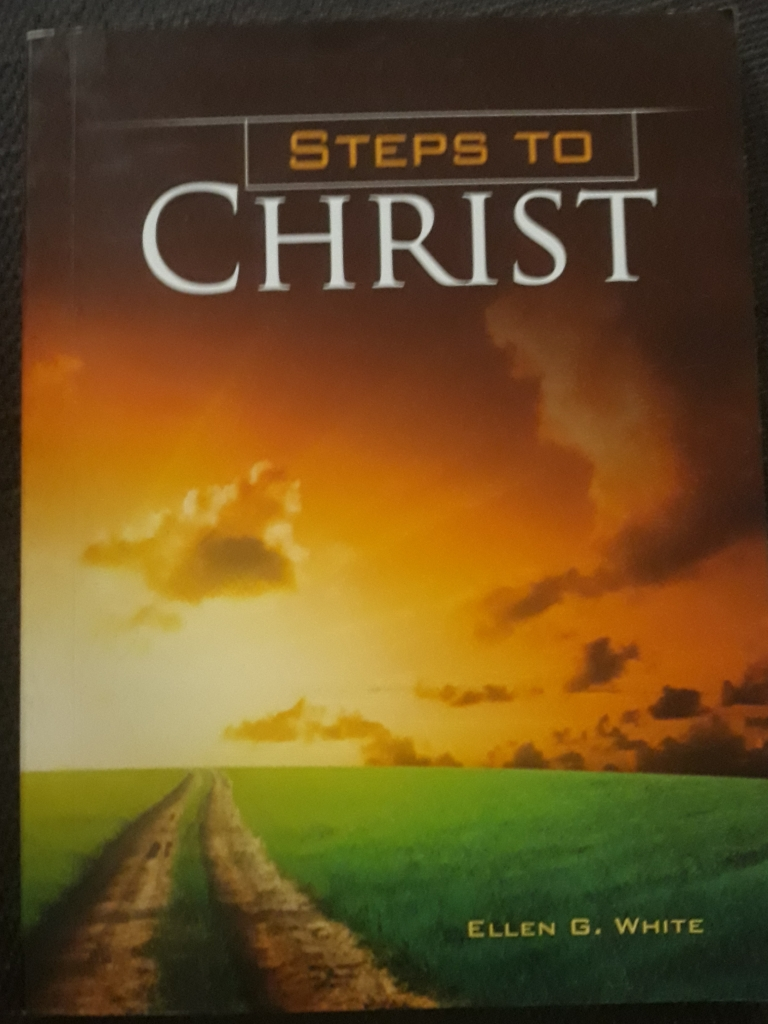 Steps to Christ, the Book, front cover,