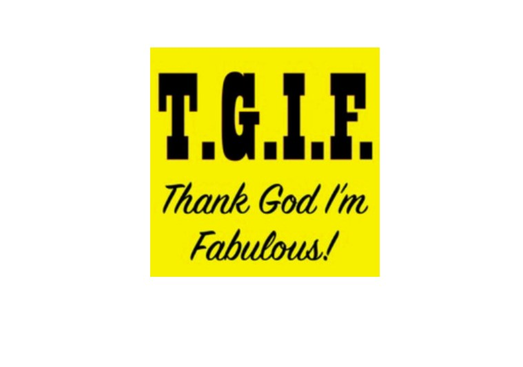 Positive Affirmations - Thank God I'm Fabulous